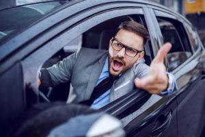 Agresivita za volantom