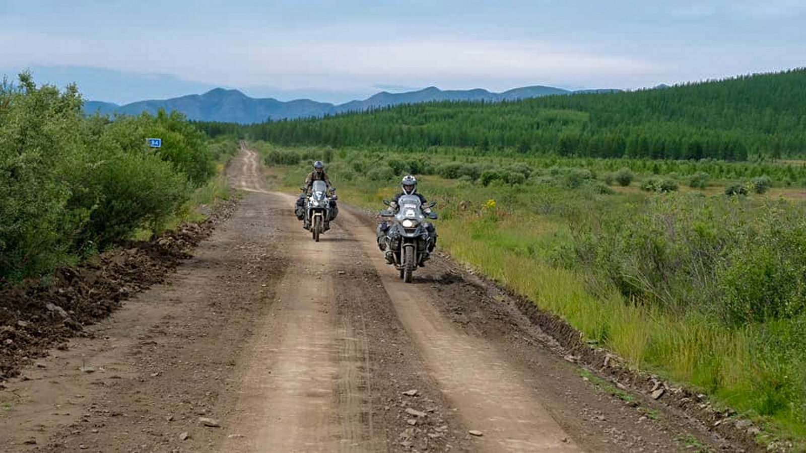 Cesta kostí v Rusku.