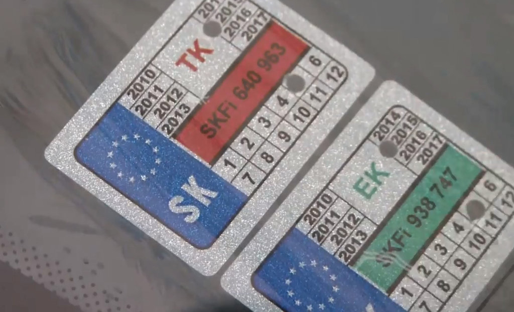 Pôvodné známky môžu byť odstránené.